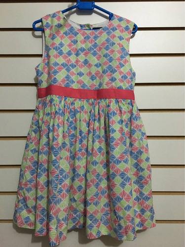 vestido de niña tommy hilfiger con rombos de  color talla 4t