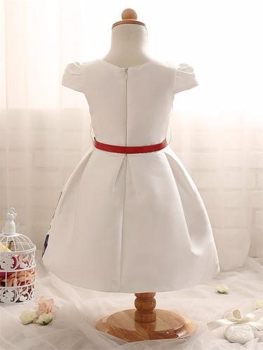 vestido de niñas primavera de flores talla 2 a 8 moda ropa
