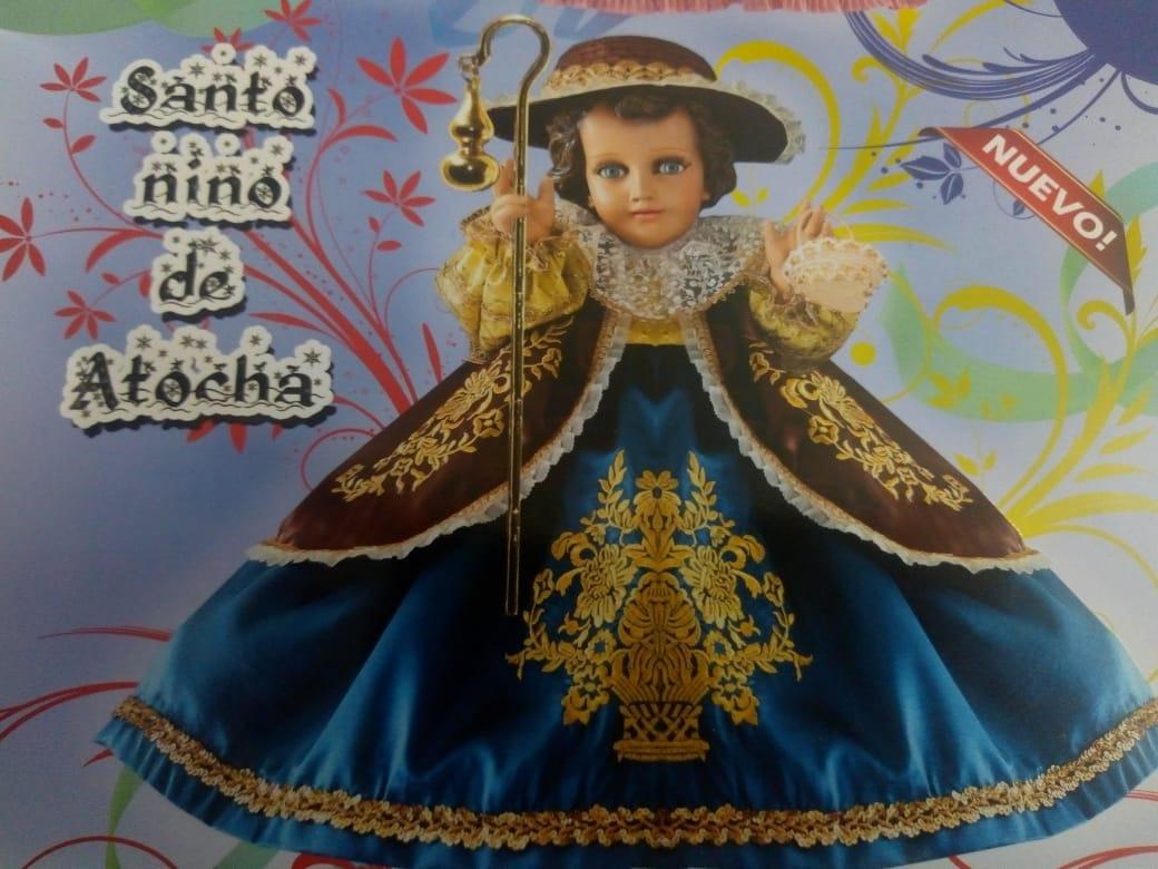 Vestido De Niño Dios Santo Niño De Atocha Nuevos