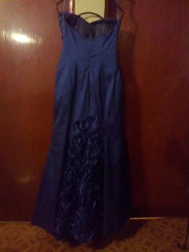vestido de noche alta costura talla 8