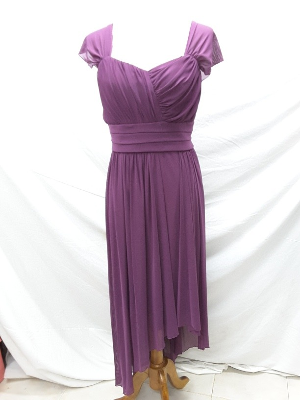 Vestido De Noche Color Uva - Ropa, Bolsas y Calzado en Mercado Libre ...