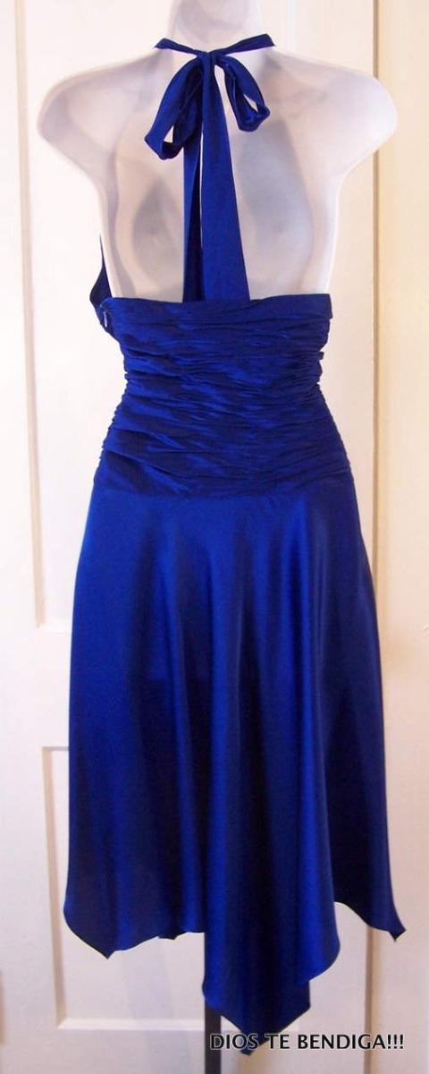Lujoso Azul Vestido De Cobalto Adorno - Ideas para el Banquete de ...