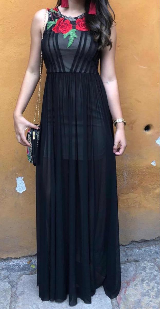 Imagenes de vestidos de noche color negro