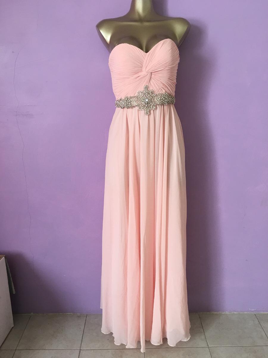Asombroso Vestido De Fiesta De Color Rosa Y Naranja Colección de ...