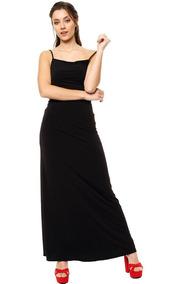 Vestido negro de noche