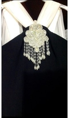 vestido de noche elegante t  m  retro vintage