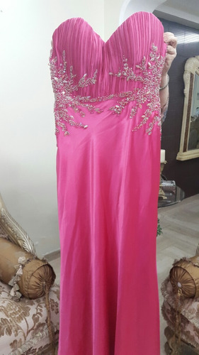vestido de noche espectacular