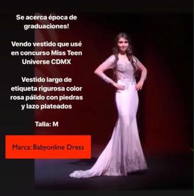 b706e8fbb Vestidos De Etiqueta Rigurosa - Vestidos en Mercado Libre México