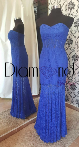 vestido de noche, fiesta, graduación azul y nude