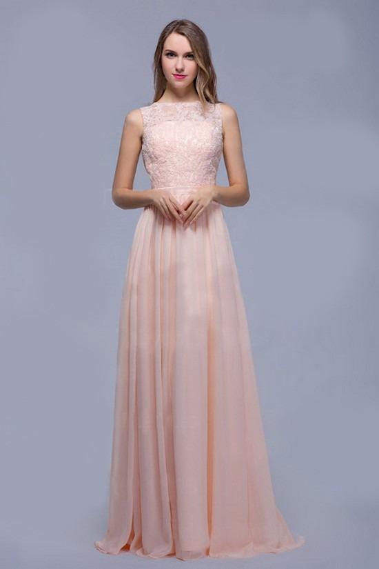 vestido de noche fiesta largo bordado encaje elegante. Cargando zoom. 59a115eda260