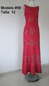 Vestidos Noche Liverpool Vestidos De Mujer Largo Rojo En