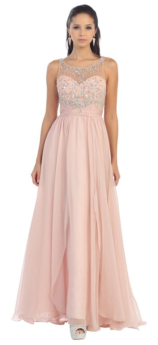Vestido De Noche, Graduación Color Aqua - $ 1,700.00 en Mercado Libre