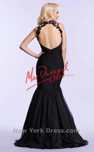 vestido de noche mac duggal by daluma boutique