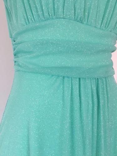 vestido de noche menta marca sweet storm mod. vvrl-038