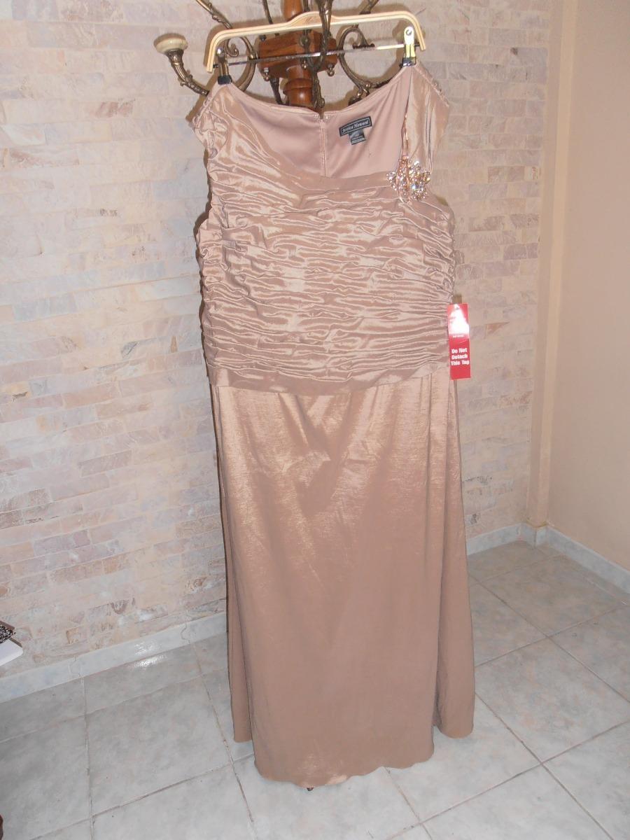 Vestido De Noche Para Dama Nuevo Coctel Largo Talla Plus - Bs ...