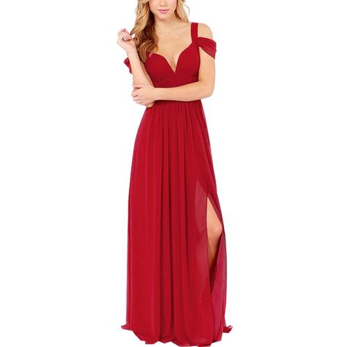 vestido de noche para mujer boda graduación envío gratis-mes