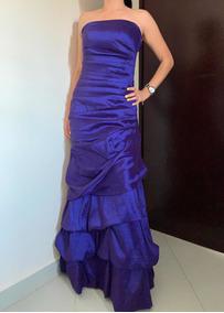 Vestido Rue Paix Vestidos De Noche Violeta En Mercado