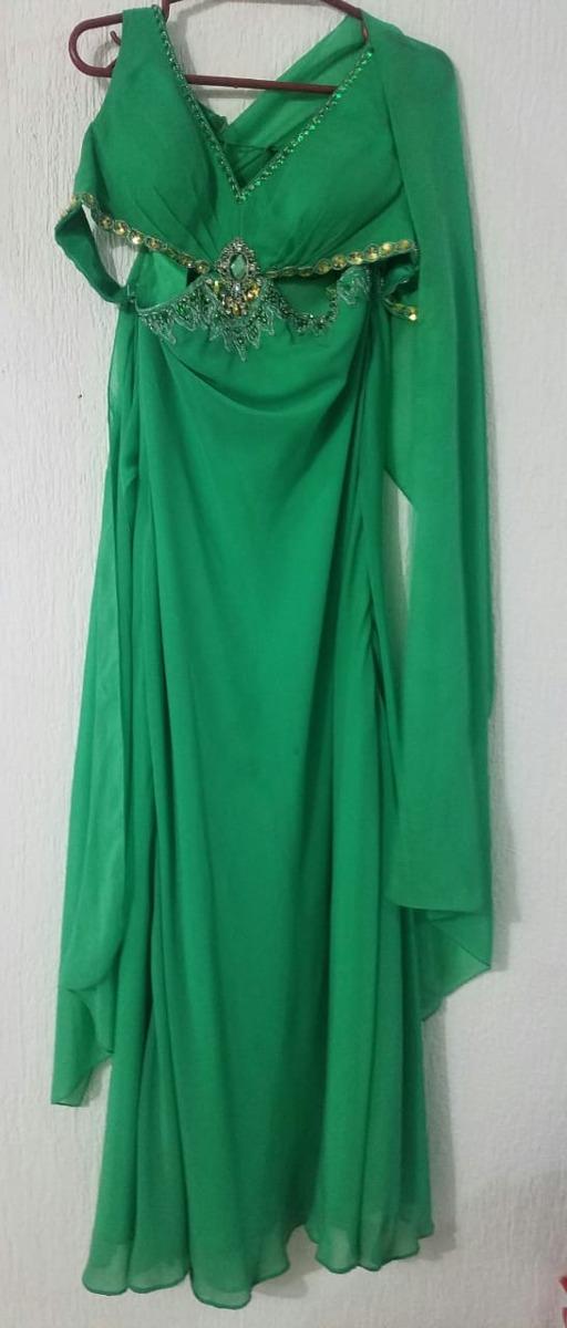 Vestidos de noche color verde botella