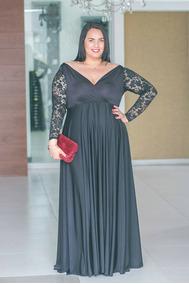 otra oportunidad salida online producto caliente Vestido De Noche Tallas Grandes L Xl Xxl
