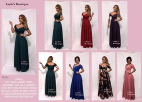 5f0caafc646f Vestido De Noche Y Fiesta Largo Gala Damas Graduacion