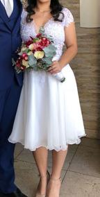 Vestido de noiva civil usado barato