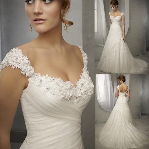 8275de640 Vestido De Noiva Casamento Longo Macaé Rio De Janeiro - R$ 400,00 em  Mercado Livre