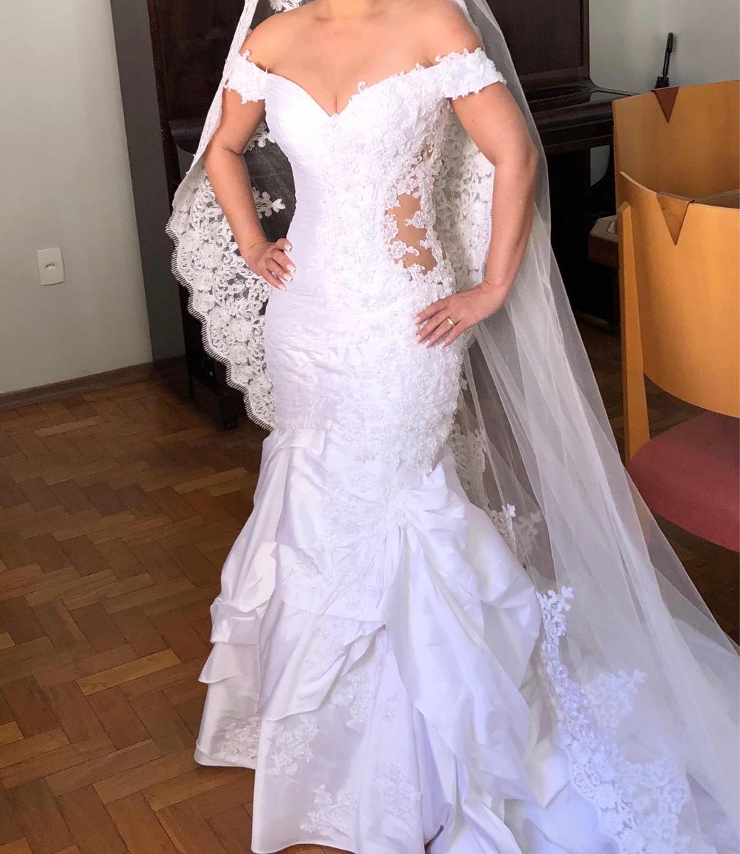 68c51db9b Vestido De Noiva Da Patrícia Nascimento - R$ 4.000,00 em Mercado Livre