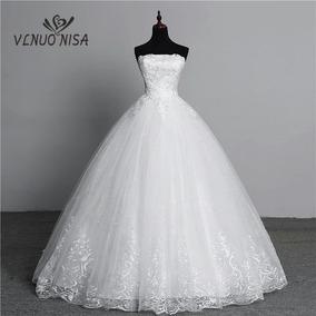 8fe0fbf0f Vestido Noiva Estilo Princesa Pronta Entrega - Vestidos no Mercado ...