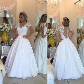 db7caa485 Vestidos De Noivas Longos Femininas em Santo André no Mercado Livre Brasil