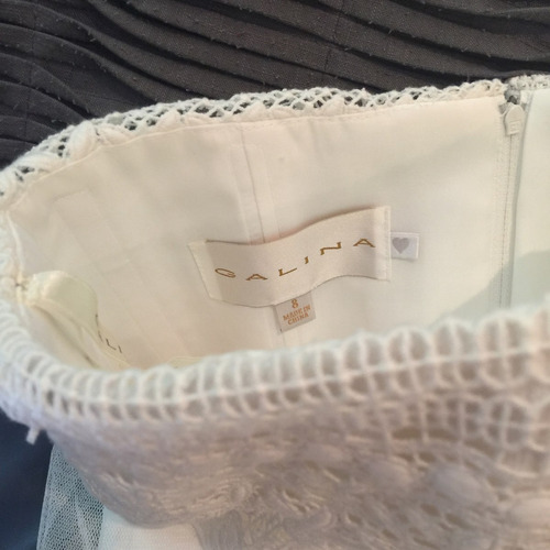 vestido de noiva galina nunca usado, size 08 (38/40br)