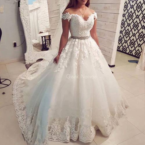 vestido de noiva - geek noivas evelin