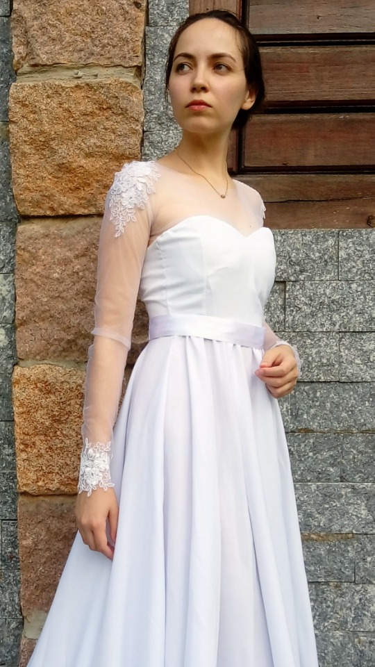 0d7283ee1 vestido de noiva longo par venda e aluguel, casamento, festa. Carregando  zoom.