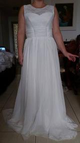 305171973 44 Vestido Branco Manequim 42 - Vestidos De Noivas Longos Femininas ...