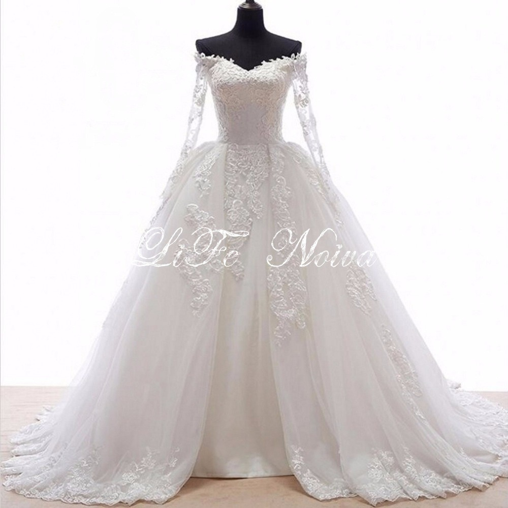 a51727848 vestido de noiva manga longa casamento diva  fli-22 . Carregando zoom.