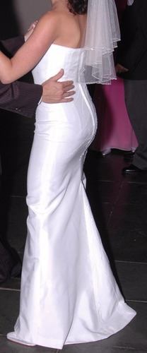 vestido de noiva modelo sereia tomara-que-caia