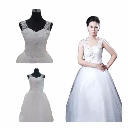 vestido de noiva ou debutante com alça partylight atelier