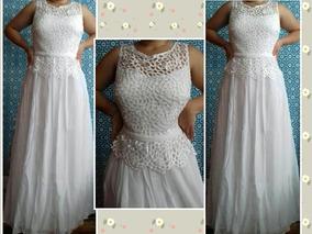f843ddf080bcca Vestido De Noiva Plus Size Civil/ Vintage/boho Chic - Barato