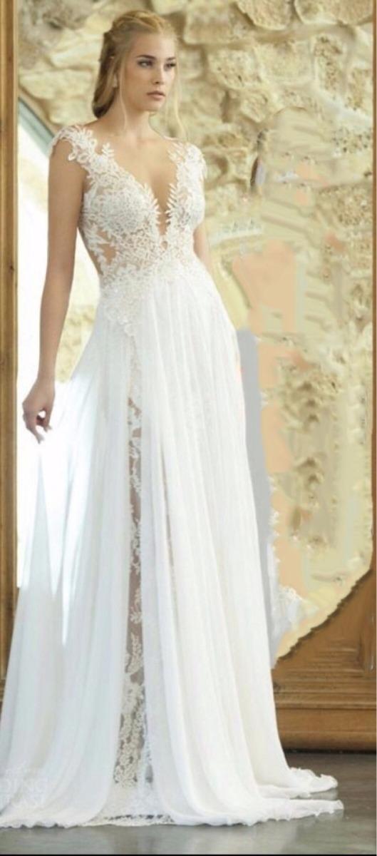 Vestido De Noiva Praiacampojardim