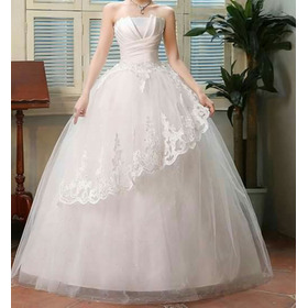 Vestido De Noiva Princesa 38 A 42 - Completo