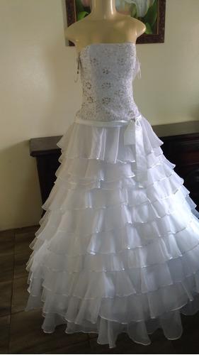 vestido de noiva princesa branco puro