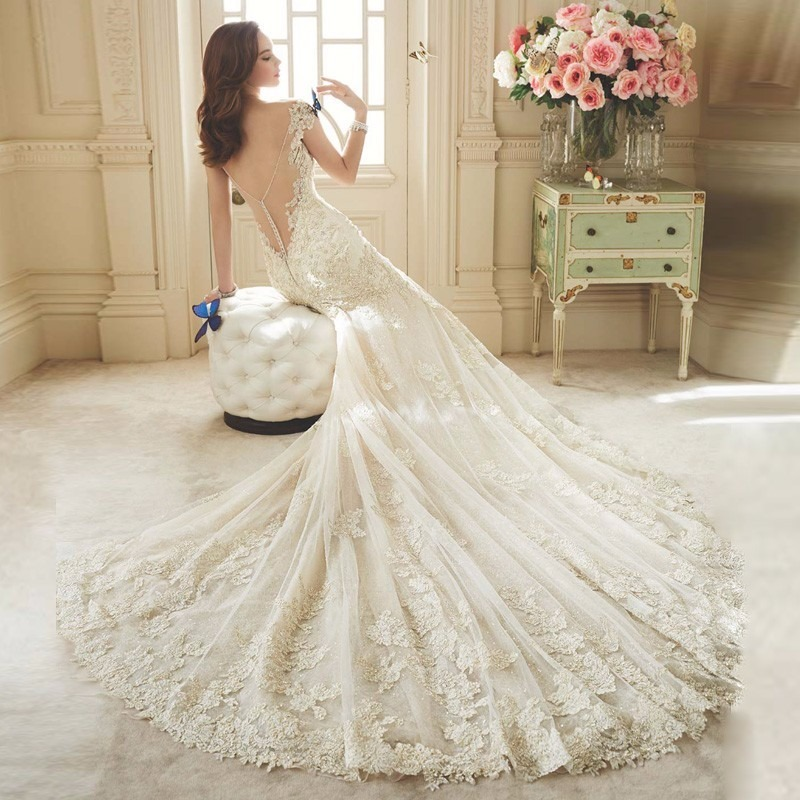 5b34006f1 vestido de noiva sereia 2016. Carregando zoom.