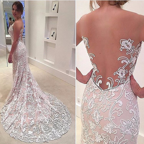 vestido de noiva sereia trompete