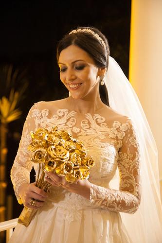 vestido de noiva usado estilista lucas anderi