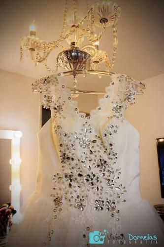 vestido de noiva - usado uma única vez