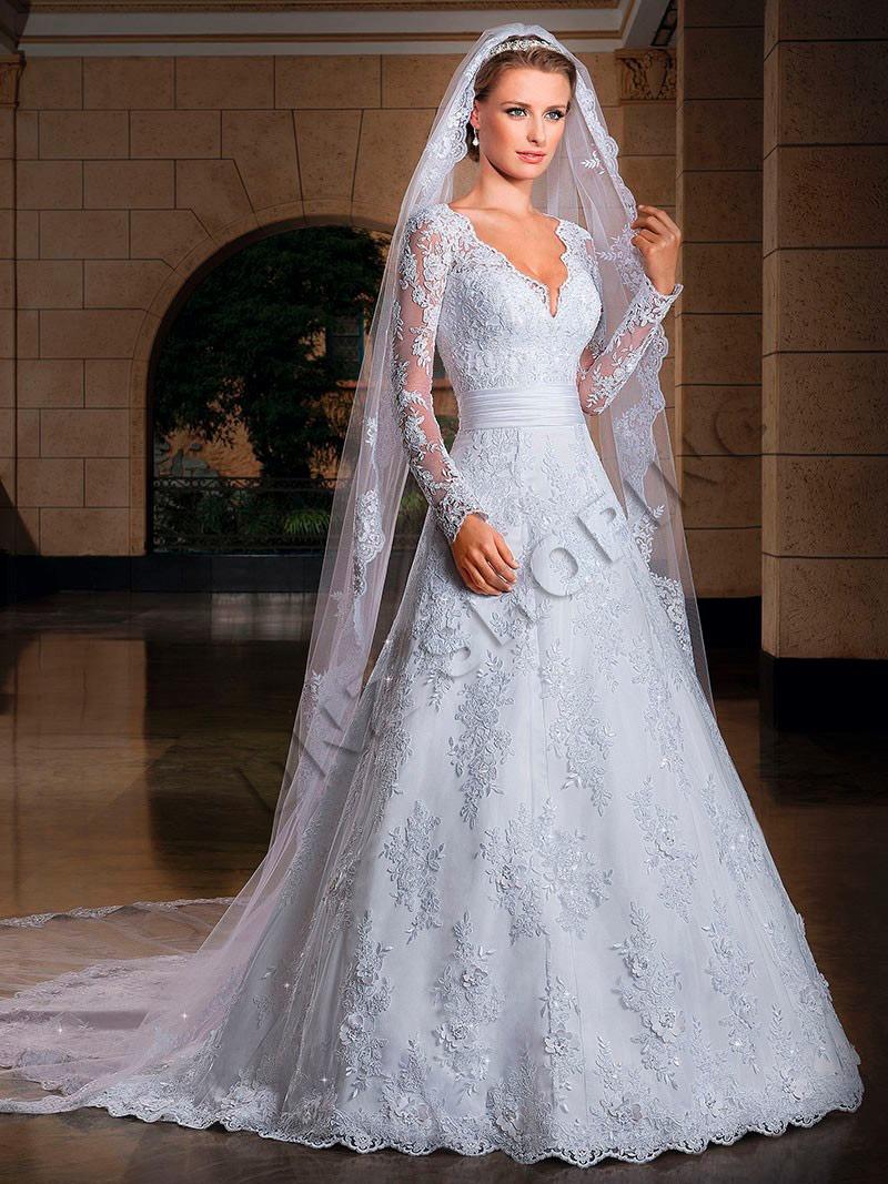 Vestido De Noiva  Vu Sob Encomenda - Frete Grtis - R -2570