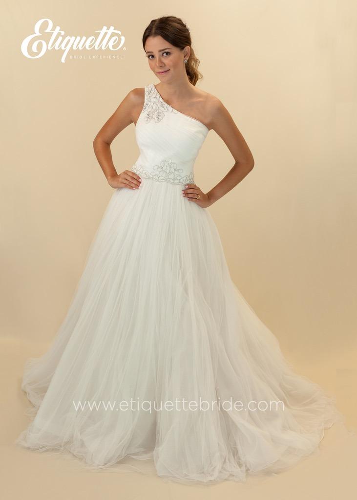 vestido de novia 100% nuevo buen precio boda etiquette - $ 11,600.00