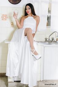 010854ac08 Vestido 15 Corto Blanco - Vestidos Cortos de Mujer en Mercado Libre ...