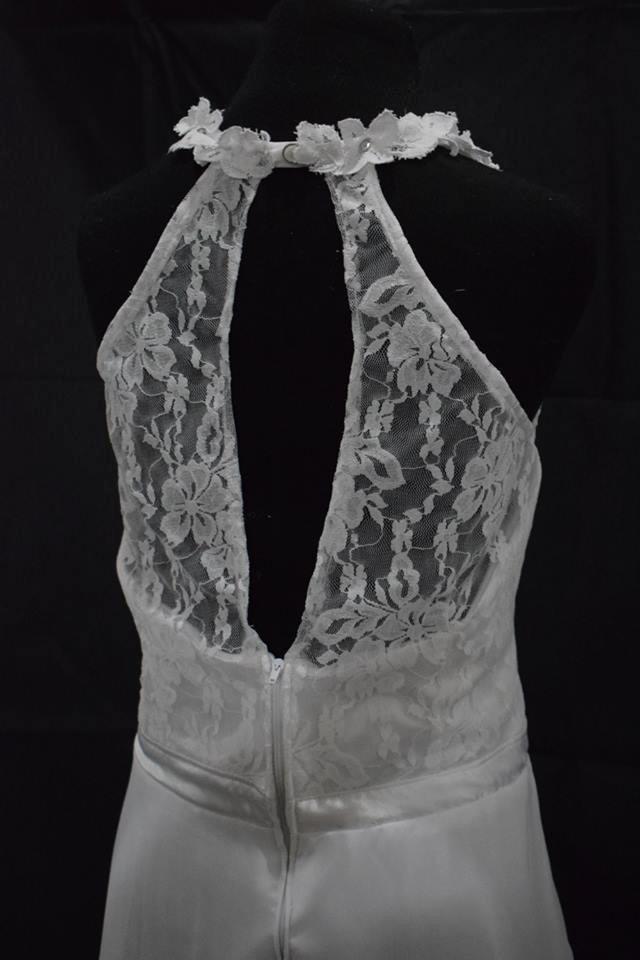 Vestido De Novia 15 Años Largo Encaje - $ 3.800,00 en Mercado Libre