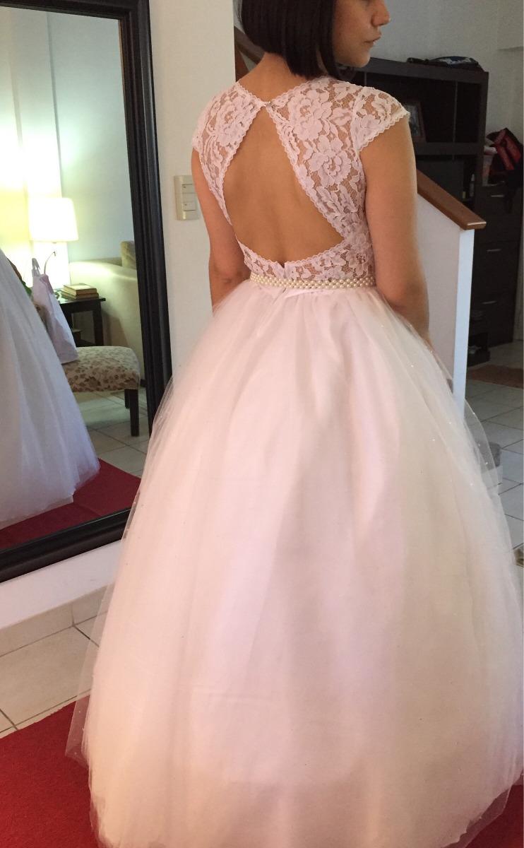 Vestido De Novia 15 Mi Soleil Espalda Rombo Princesa Tul - $ 7.900 ...