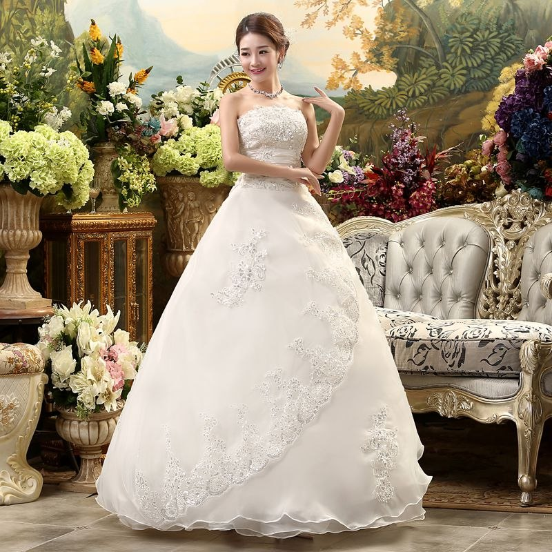 vestido de novia 2018 con o sin cola (directo china)#1114 - $ 19.200
